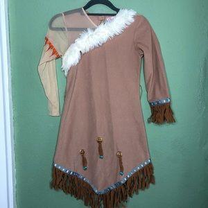 Disney Costumes - Disney Pocahontas Costume Size 7/8
